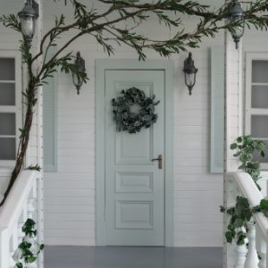 Curb Appeal Checklist - Painted Front Door - Lighting - Plants - West Chester Township OH