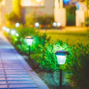 Exterior Painting and Curb Appeal - Solar Landscape Lighting